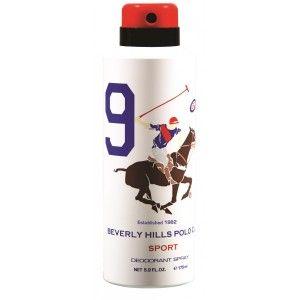 Buy Beverly Hills Polo Club Sport 9 Deodorant Spray - Nykaa