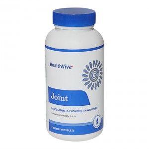 Buy HealthViva Joint Glucosamine & Chondroitin with MSM - Nykaa