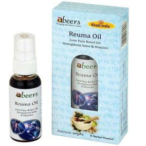 Buy Abeers Khadi Reuma Oil - Nykaa