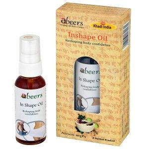 Buy Abeers Khadi Inshape Oil - Nykaa