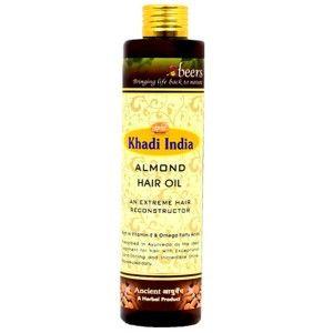 Buy Abeers Khadi Almond Hair Oil - Nykaa