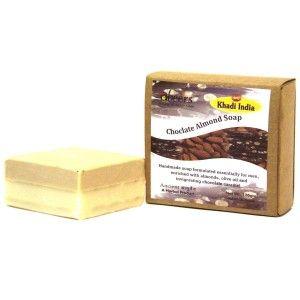 Buy Abeers Khadi Pure Essence Luxury Chocolate Almond Soap - Nykaa