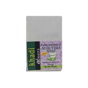 Buy Abeers Khadi Pure Essence Aloe Soap - Nykaa