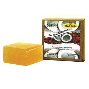 Buy Abeers Khadi Pure Essence Luxury Coconut Almond Soap - Nykaa
