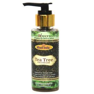 Buy Abeers Khadi Abeers Tea Tree Face Wash - Nykaa