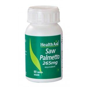 Buy HealthAid Saw Palmetto 265mg - Equivalent - Nykaa