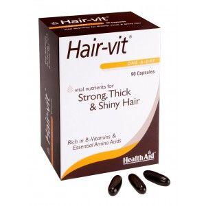 Buy HealthAid Hair-Vit - 90 Capsules - Nykaa