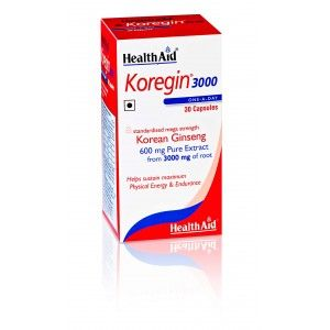 Buy HealthAid Koregin 3000 - Korean Ginseng 600mg - Nykaa