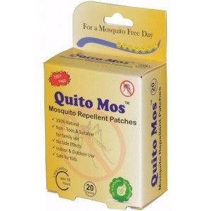 Buy Quito Mos Mosquito Repellent - 20 Patches - Nykaa