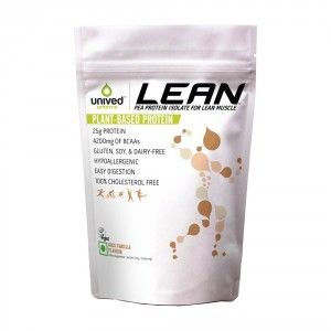 Buy Unived LEAN Pea Protein Isolate Powder Coco Vanilla Flavour - Nykaa