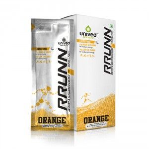 Buy Unived RRUNN Pre Energy Sports Drink Mix Orange Flavour - Nykaa