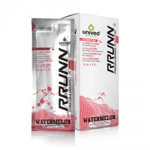Buy Unived RRUNN During Isotonic Electrolyte Sports Drink Mix Watermelon Flavour - Nykaa