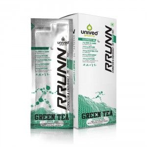 Buy Unived RRUNN During Isotonic Electrolyte Sports Drink Mix Caffeinated Green Tea Flavour - Nykaa