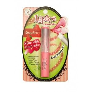 Buy LipIce Sheer Color - Strawberry - Nykaa