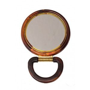 Buy Filone Round Mirror - Brown - Nykaa