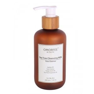 Buy OMORFEE Tea Tree Cleansing Milk - Nykaa
