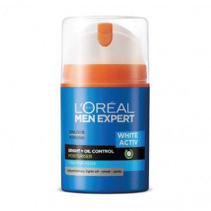 Buy L'Oreal Paris Men Expert White Active Bright + Oil Control Serum Moisturising - Nykaa