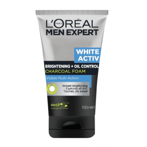 Buy L'Oreal Paris Men Expert White Activ Oil Control + Brightening Charcoal Foam - Nykaa