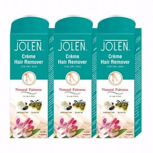 Buy Jolen Hair Remover Cream - Sandal Pack of 3 (20% Extra) - Nykaa