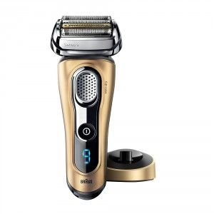 Buy Braun Series 9 9299s Wet & Dry Electric Shaver With Charging Stand (Limited Edition Matte Gold) - Nykaa