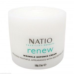 Buy Natio Face Lift Results Renew Wrinkle Defence Cream - Nykaa