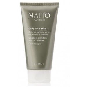 Buy Natio For Men Daily Face Wash - Nykaa