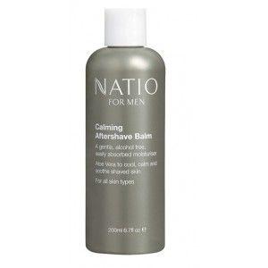 Buy Natio Calming Aftershave Balm - Nykaa
