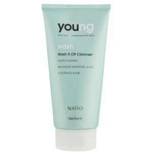 Buy Natio Young Wash It Off Cleanser - Nykaa