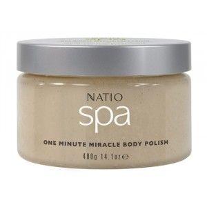 Buy Natio Spa One Minute Miracle Body Polish - Nykaa