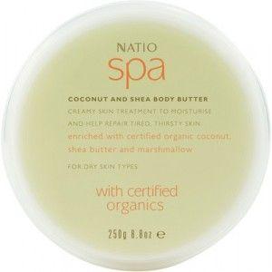 Buy Natio Spa Coconut And Shea Body Butter - Nykaa