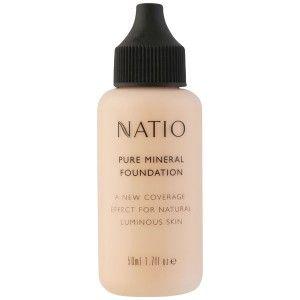 Buy Natio Pure Mineral Foundation - Nykaa