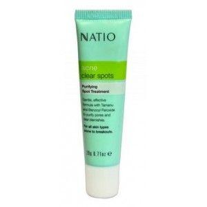 Buy Natio Acne Clear Spots Antibacterial Treatment - Nykaa