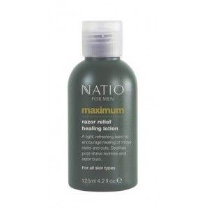Buy Natio Maximum Razor Relief Healing Lotion - Nykaa