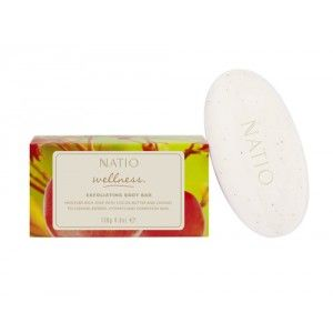 Buy Natio Wellness Exfoliating Body Bar - Nykaa