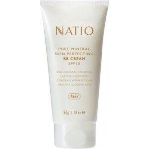 Buy Natio Pure Mineral Skin Perfecting BB Cream SPF 15  - Nykaa