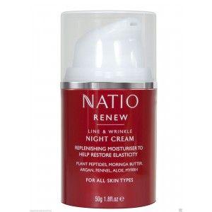 Buy Natio Renew Line & Wrinkle Night Cream - Nykaa