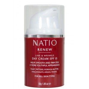 Buy Natio Renew Line & Wrinkle Day Cream SPF 15 - Nykaa