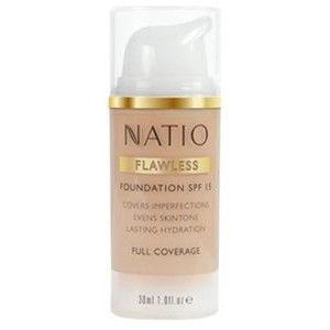 Buy Natio Flawless Foundation SPF 15 - Nykaa