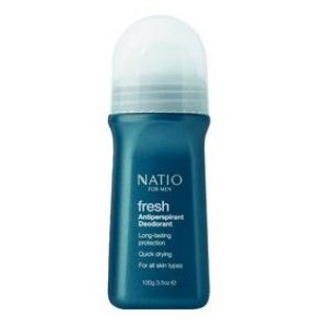 Buy Natio Fresh Antiperspirant Deodorant For Men - Nykaa