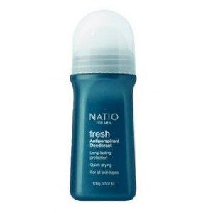 Buy Natio Fresh Antiperspirant Deodorant For Men - Nykaa