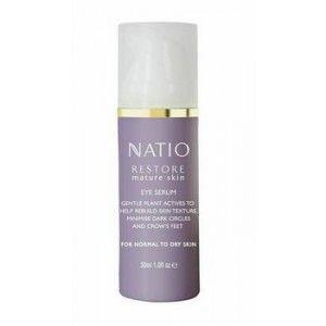 Buy Natio Restore Mature Skin Eye Serum - Nykaa
