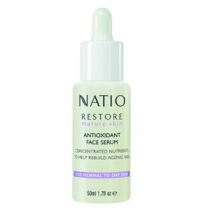 Buy Natio Restore Mature Skin Antioxidant Face Serum - Nykaa