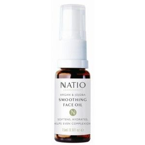 Buy Natio Argan & Jojoba Smoothing Face Oil - Nykaa