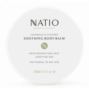 Buy Natio Calendula & Avocado Soothing Body Balm - Nykaa