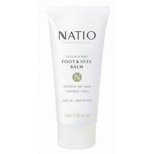 Buy Natio Cocoa & Mint Foot & Heel Balm - Nykaa