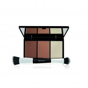 Buy Natio Contour Palette with Brush - Nykaa