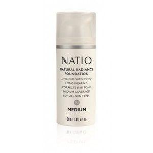Buy Natio Natural Radiance Foundation - Nykaa
