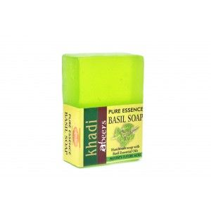 Buy Abeers Khadi Pure Essence Holy Basil Soap - Nykaa