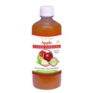 Buy Nutravigour Apple Cider Vinegar - 500ml ( ACV ) Unfiltered, Unpasteurized With All The Natures Benefits - Mother Of Vinegar  - Nykaa