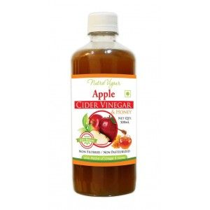 Buy Nutravigour Apple Cider Vinegar Plus Honey ( ACVH ) Unfiltered, Unpasteurized With All The Natures Benefits-500ml - Mother Of Vinegar - Nykaa